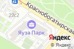 Схема проезда до компании Главмосстрой-Недвижимость в Москве