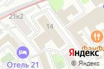 Схема проезда до компании Единая дежурная диспетчерская служба района Сокольники в Москве