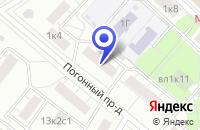 Схема проезда до компании ПРОИЗВОДСТВЕННАЯ ФИРМА МАРШАЛ в Москве