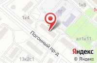 Схема проезда до компании Тубус в Москве