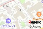 Схема проезда до компании Star Trek в Москве