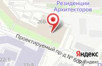 Схема проезда до компании Арт Звезда в Москве