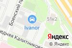 Схема проезда до компании MegaSuv в Москве