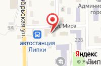 Схема проезда до компании Среднерусский банк Сбербанка России в Липках