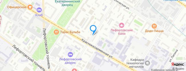 улица Лефортовский Вал