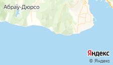 Частный сектор города Широкая Балка на карте