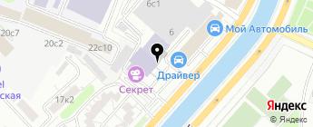 SALARIUM на карте Москвы