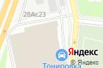 Схема проезда до компании Refit-car в Москве
