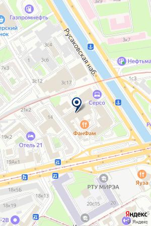 ПРОИЗВОДСТВЕННАЯ ФИРМА МАРКОН на карте Москвы