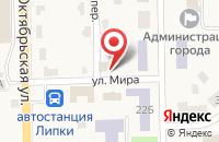 Схема проезда до компании ЦЕНТРОФИНАНС ГРУПП в Липках