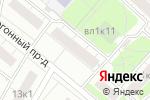 Схема проезда до компании ОПОП Восточного административного округа в Москве