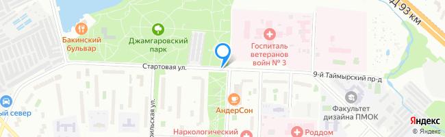 Стартовая улица