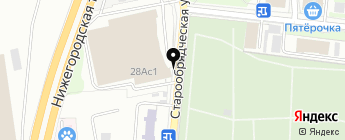 AllStarex на карте Москвы