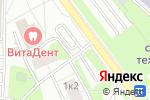 Схема проезда до компании Автостоянка на ул. Малыгина в Москве