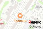Схема проезда до компании Пенная у Влада в Москве