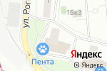 Схема проезда до компании Нивей в Москве