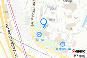 Комната в Москве ул. Рогожский Посёлок, 3