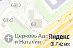 Схема проезда до компании Mc body в Москве
