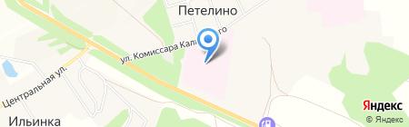 Тульский областной противотуберкулезный диспансер №1 на карте Большой Еловой