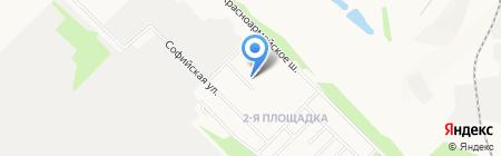 Детский сад №64 на карте Донецка