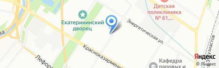 ФорумИнвест на карте Москвы