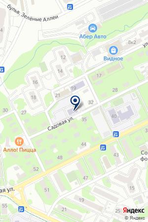 ДЕТСКИЙ САД РУЧЕЕК на карте Видного