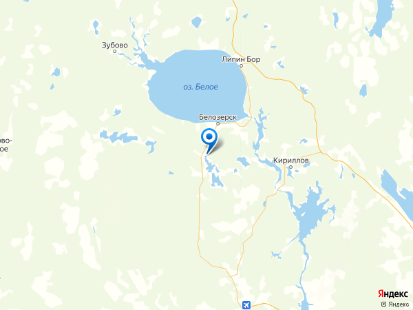 деревня Чулково на карте