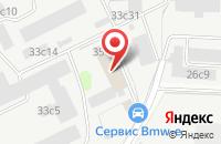 Схема проезда до компании А и Б Рекордз в Москве