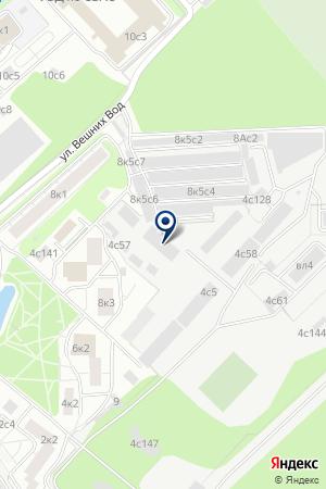 Автоателье Chescar на карте Москвы