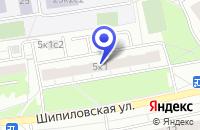Схема проезда до компании ОДС № 419 в Москве