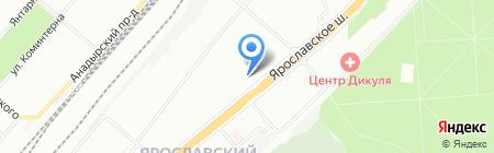 Детская школа искусств им. С.И. Мамонтова на карте Москвы