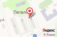 Схема проезда до компании Газпром газораспределение Тула в Петелино