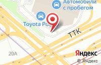 Схема проезда до компании Кватро-Финанс в Москве