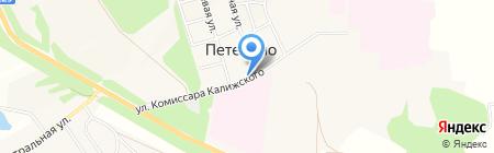 Магазин продуктов на карте Большой Еловой