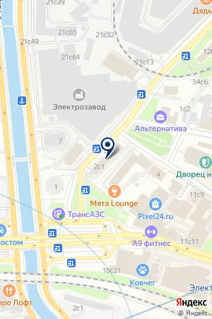 ТФ АРТКОМ-ДК на карте Москвы