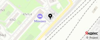 Анадырь на карте Москвы
