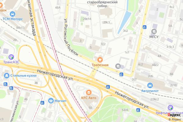 Ремонт телевизоров Улица Рогожский Поселок на яндекс карте