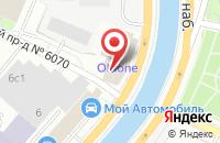 Схема проезда до компании Альсена в Москве