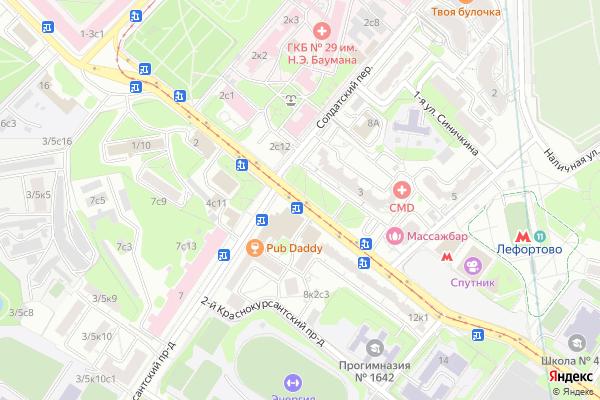 Ремонт телевизоров Улица Солдатская на яндекс карте
