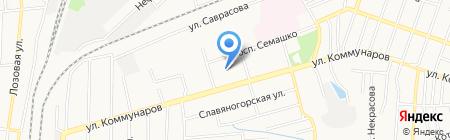 Детский сад №337 на карте Донецка