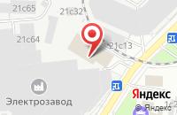 Схема проезда до компании Мир открыток в Москве