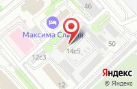 Схема проезда до компании Эталонпожсервис в Москве