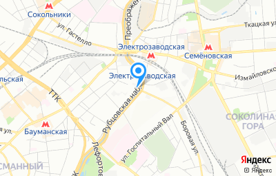 Местоположение на карте пункта техосмотра по адресу г Москва, наб Рубцовская, д 3 стр 1