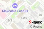 Схема проезда до компании Независимое справочное бюро в Москве