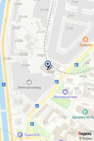 ВНЕШНЕТОРГОВАЯ ФИРМА ИНТЕРМЭЛЗ на карте Москвы