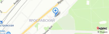 СУНЭМ на карте Москвы