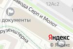 Схема проезда до компании Денталджаз Техно в Москве