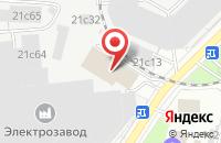 Схема проезда до компании ПК Пластики в Москве