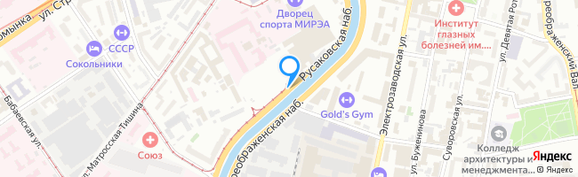 Русаковская набережная