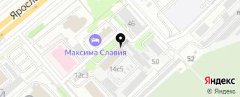 Транстехника, ЗАО на карте Москвы